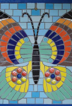 Kleurrijke vlinder