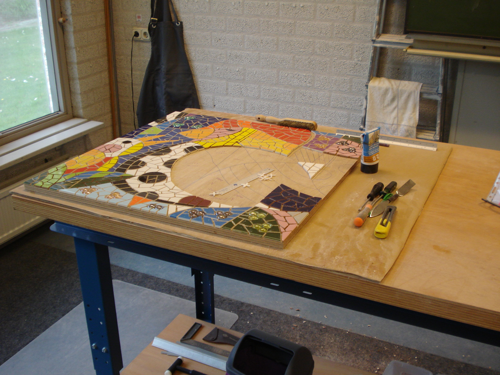 Atelier in Vught, Nederland (2)